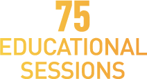 75 Educational Sessions Label