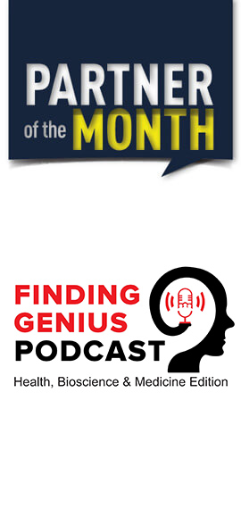 Partner of the Month - Finding Genius Podcast
