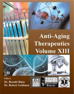 Anti-Aging Therapeutics - Volume 13