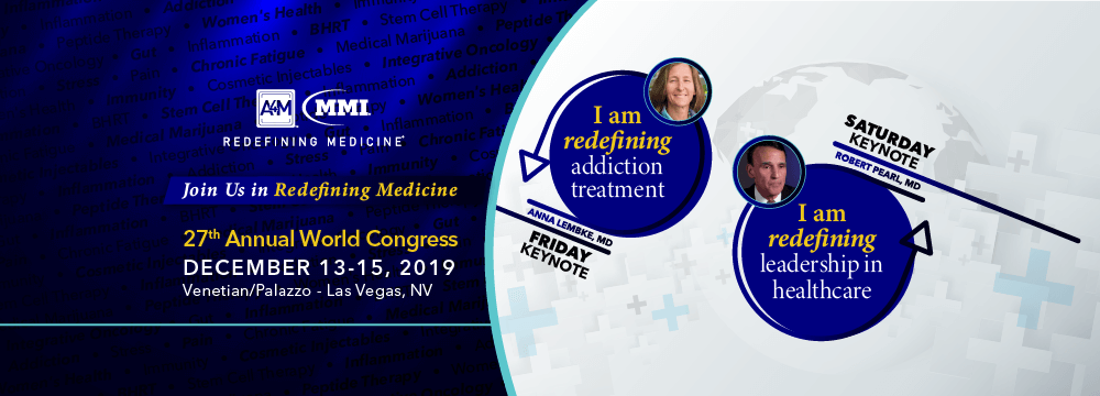 27th Annual World Congress - Anti Aging Conference 2019 - A4M